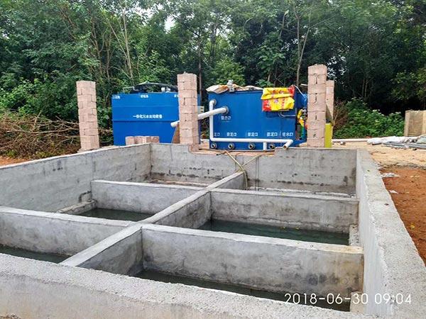 地埋式污水處理設備是什么?由哪些部分組成其特點是什么?